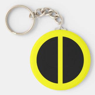 Yellow Equality Keychain