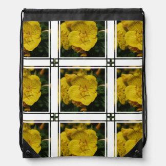 Yellow Evening Primrose Backpacks