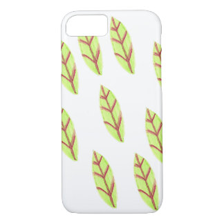 Yellow feather I phone 6 case
