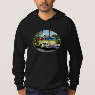 Yellow Fire Truck Hoodie