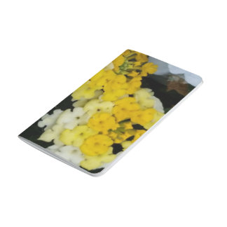 Yellow Floral Clusters Colletion Pocket Journal