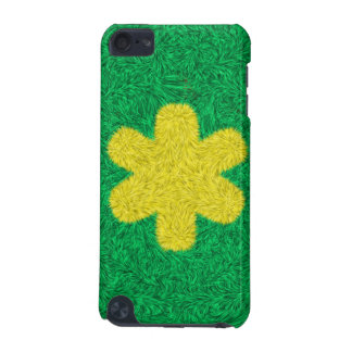 Yellow flower art iPod touch 5G cover