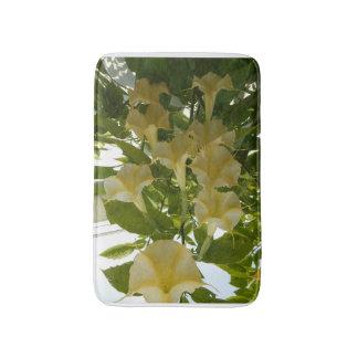yellow flower bath mat bath mats