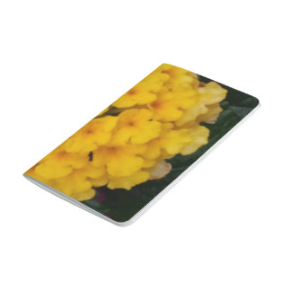 Yellow Flower Clusters Pocket Journal