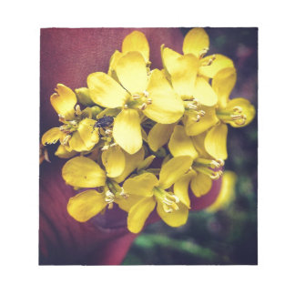 Yellow Flowers Notepad