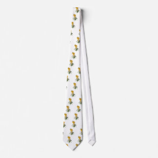 Yellow flowers,Pierre Joseph Redouté Tie