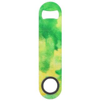 Yellow Green Speed Bottle Opener