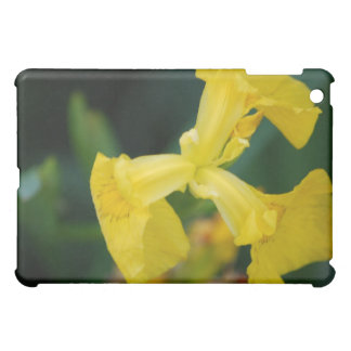 Yellow Iris Flowers iPad Case