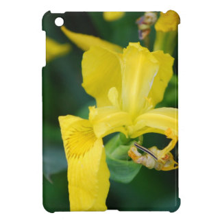 Yellow Iris iPad Mini Case