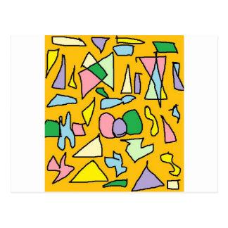 Yellow Jewel Postcard