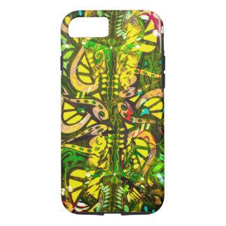 Yellow kaleidoscope iPhone 8/7 case