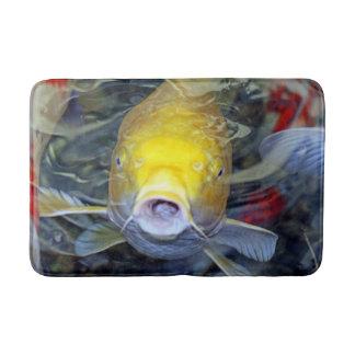 Yellow Koi Bath Mats