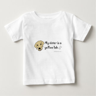 yellow lab-more dog breeds baby T-Shirt
