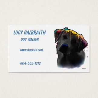 Yellow Labrador Dog Business Card