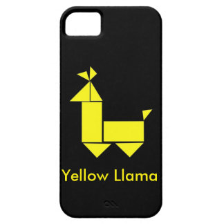Yellow Llama Phone Case iPhone 5 Cases