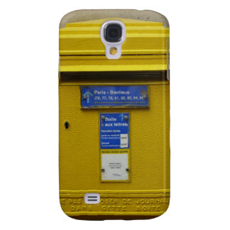 Yellow Mailbox Funny s Galaxy S4 Case