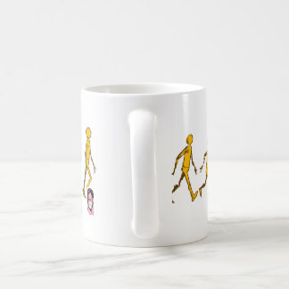 Yellow Man Animation Walk Cycle Mug