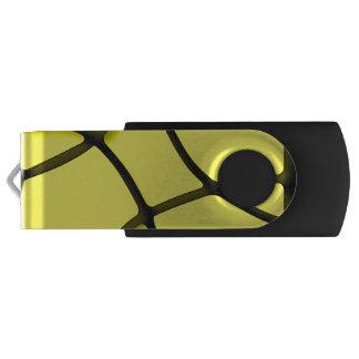 Yellow Maze Silver, 16 GB, Black USB Flash Drive