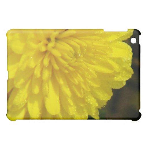 Yellow Mum iPad Mini Cover