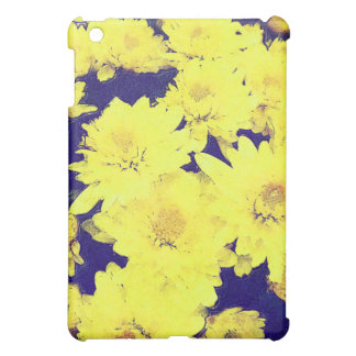 YELLOW MUMS CASE FOR THE iPad MINI