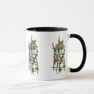 Yellow on Green Mug