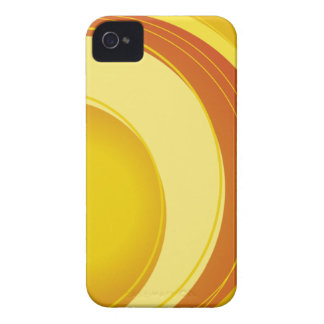 Yellow, Orange and White iPhone 4 Covers