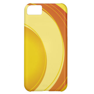 Yellow, Orange and White iPhone 5C Cases