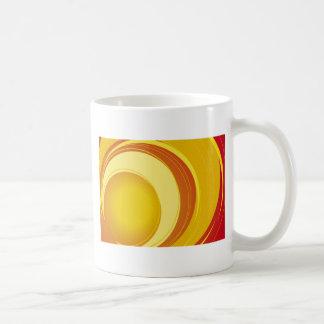 Yellow, Orange and White Coffee Mug