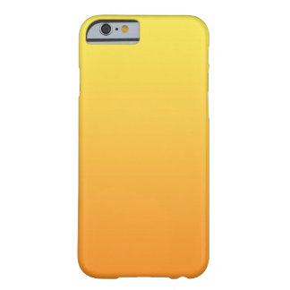 Yellow & Orange Ombre Barely There iPhone 6 Case