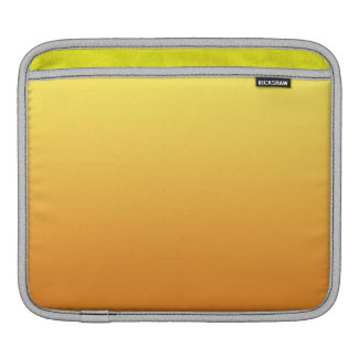 Yellow & Orange Ombre Sleeves For iPads