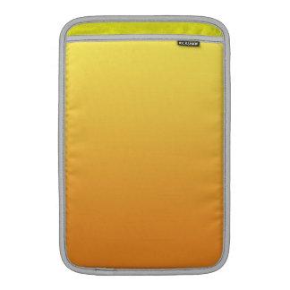 Yellow & Orange Ombre MacBook Sleeves