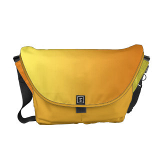 Yellow & Orange Ombre Messenger Bags