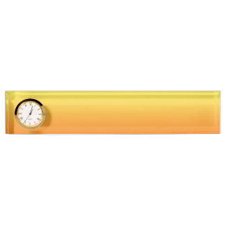 Yellow & Orange Ombre Name Plate