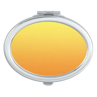 Yellow & Orange Ombre Mirror For Makeup