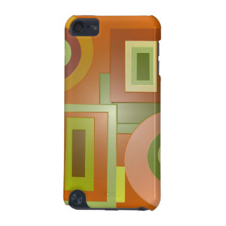 yellow orange shapes pop art iPod touch 5G cover