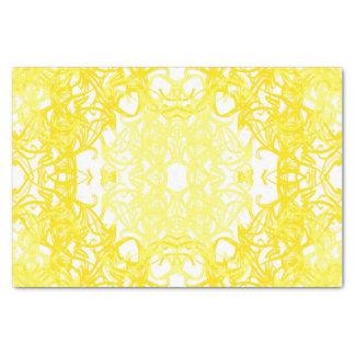 yellow paper muslin