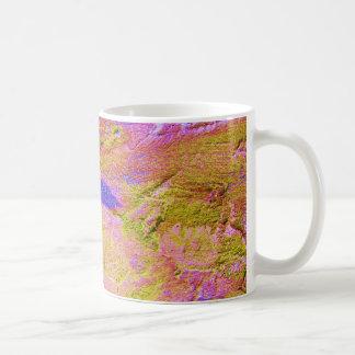 Yellow Pink Blue Crush Mug - Customizable