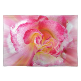 yellow pink Rose Placemat