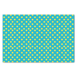 Yellow Polka Dots | DIY Background Colors Tissue Paper