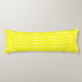 Yellow Polka Dots Body Pillow