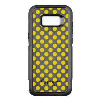 Yellow Polka Dots OtterBox Commuter Samsung Galaxy S8+ Case