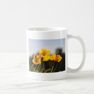 Yellow Poppies Coffee Mug