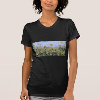 Yellow Poppy Garden Painting, Yellow Poppies, Art T-Shirt