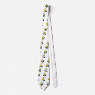 Yellow Rose by Pierre Joseph Redoute Tie