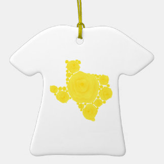 Yellow Rose of Texas Ceramic T-Shirt Decoration