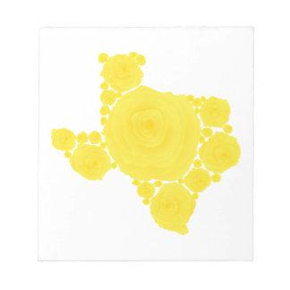 Yellow Rose of Texas Memo Note Pad
