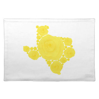 Yellow Rose of Texas Placemats