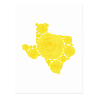Yellow Rose of Texas Post Card