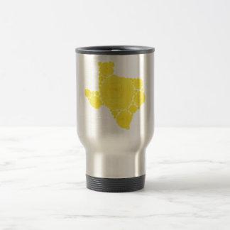 Yellow Rose of Texas Stainless Steel Travel Mug