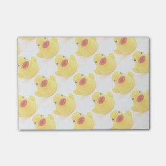 Yellow Rubber Ducklings Post-it Notes